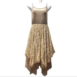 Ryu brown lace fairy dress